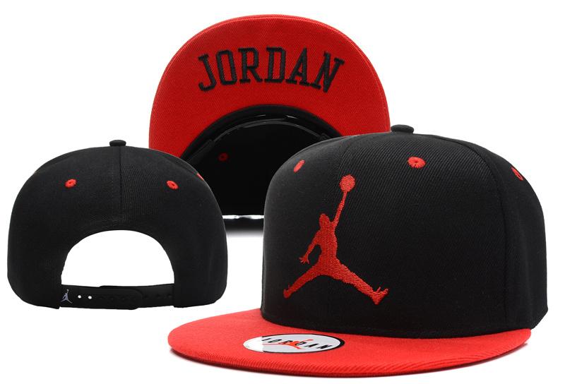 Czapka Jumpman Snapback Nike Air Jordan (czarno czerwona)