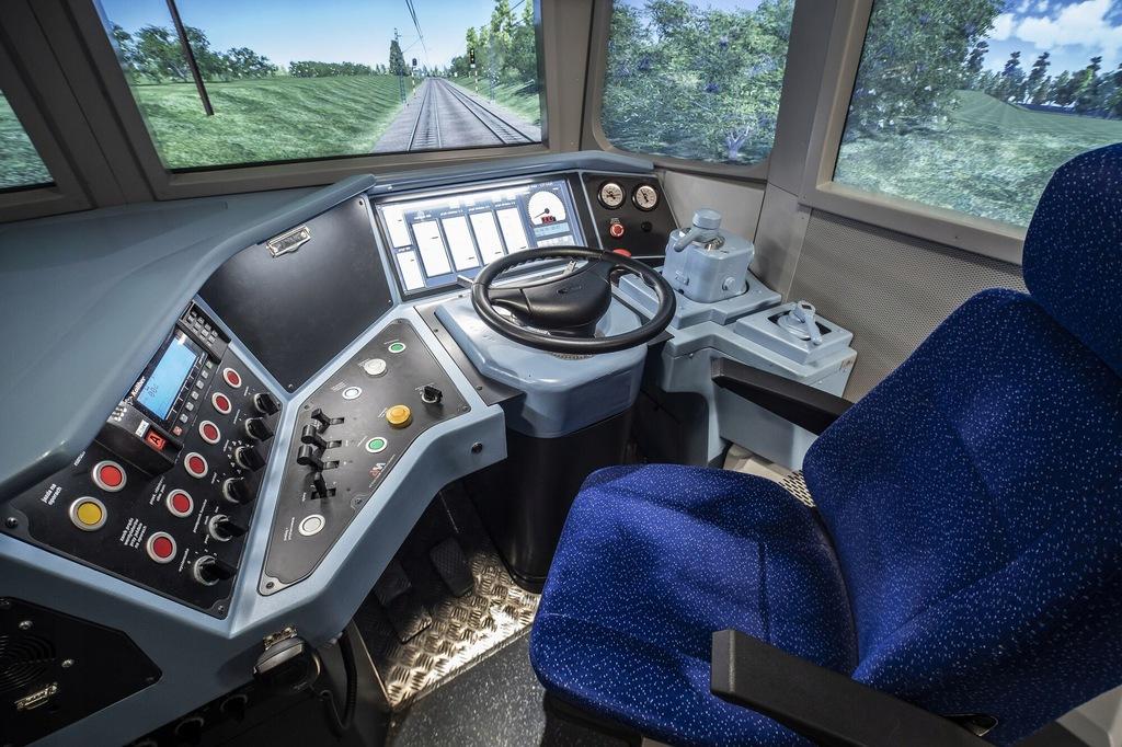 Szkolenie i przejazd w symulatorze pociągu 45 WE!