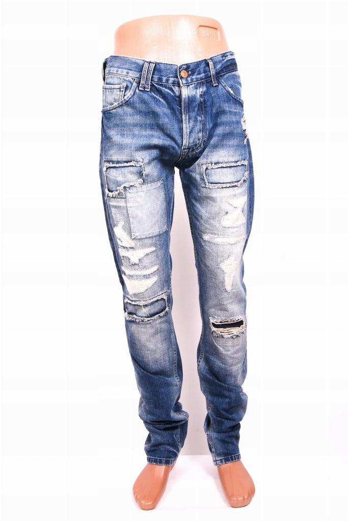 Zara Man Spodnie Męskie Jeansy Dzwony Vintage 40