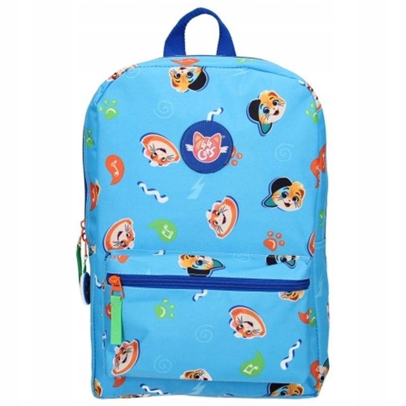 44 Cats - Plecak Szkolny (niebieski)