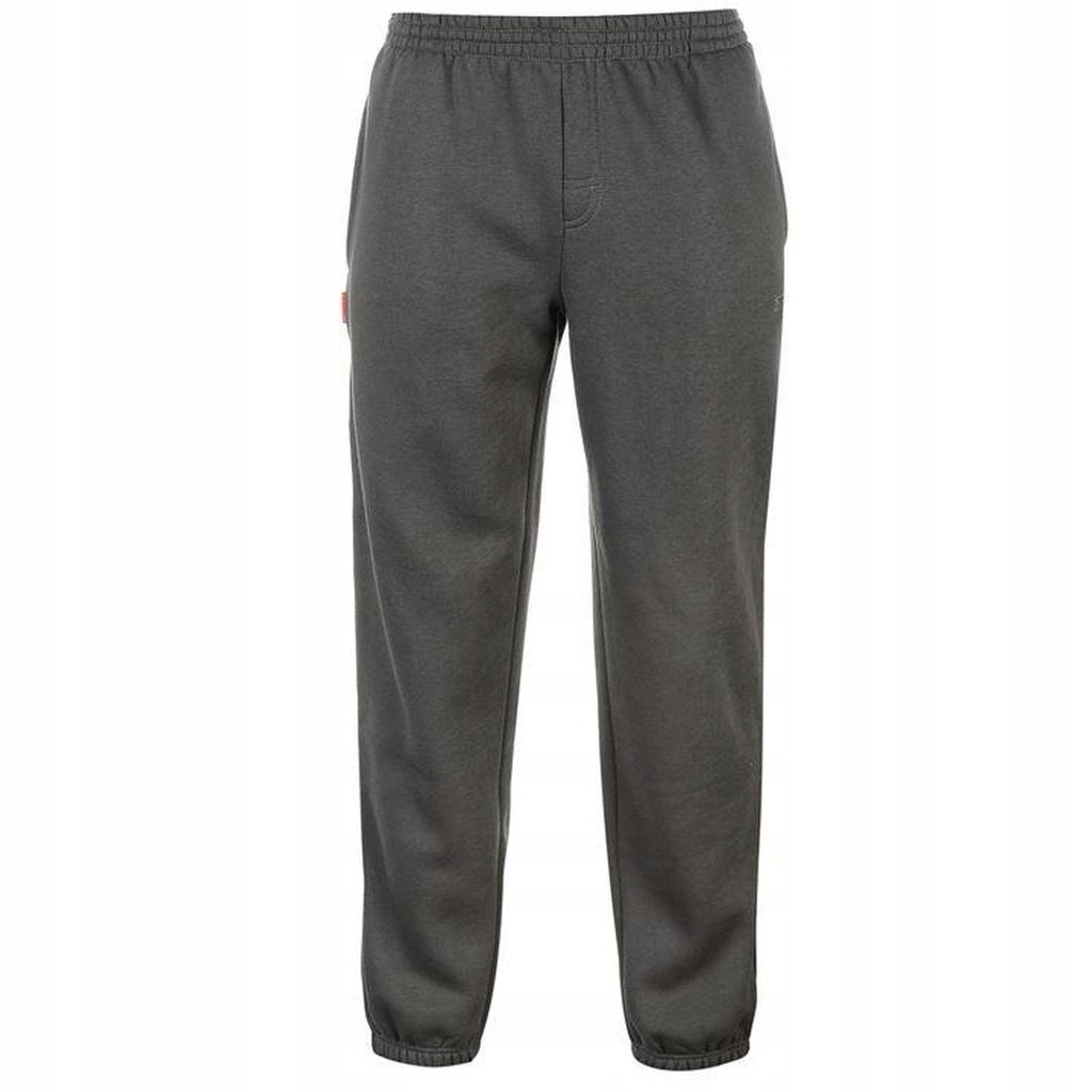 Spodnie dresowe męskie SLAZENGER szare jakość L