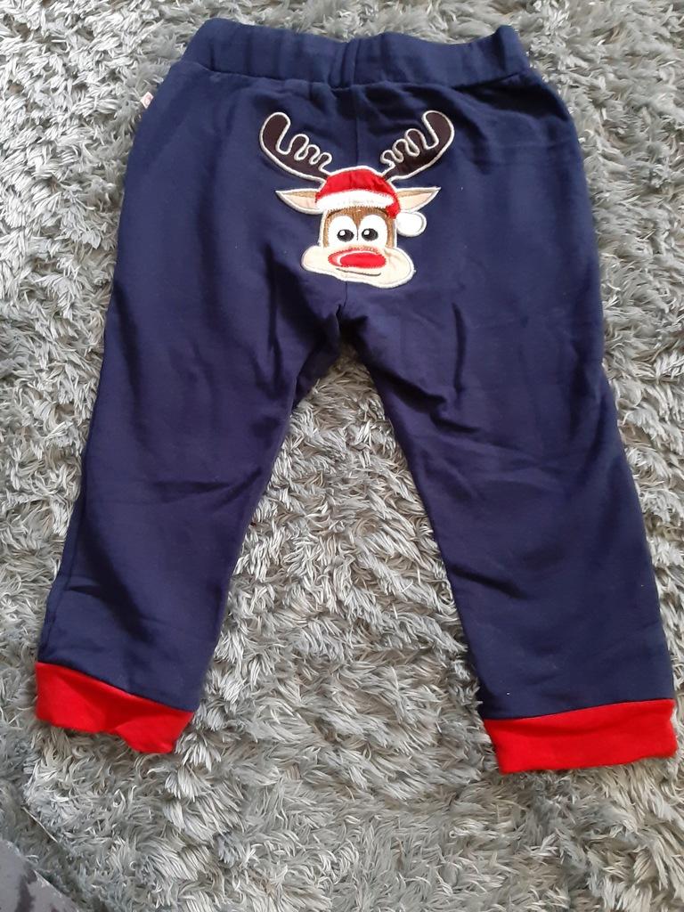COCCORDILLO Spodnie dresowe jak nowe rozm 86