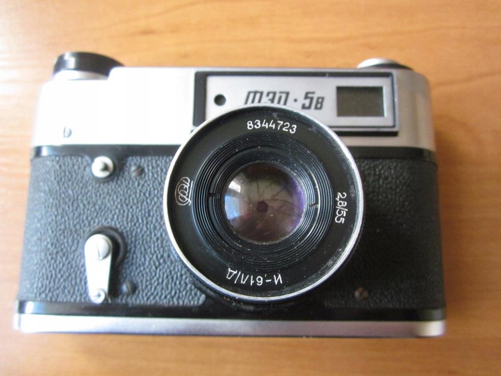 Stary aparat FED 5 B ! Kolekcjonerska sztuka !