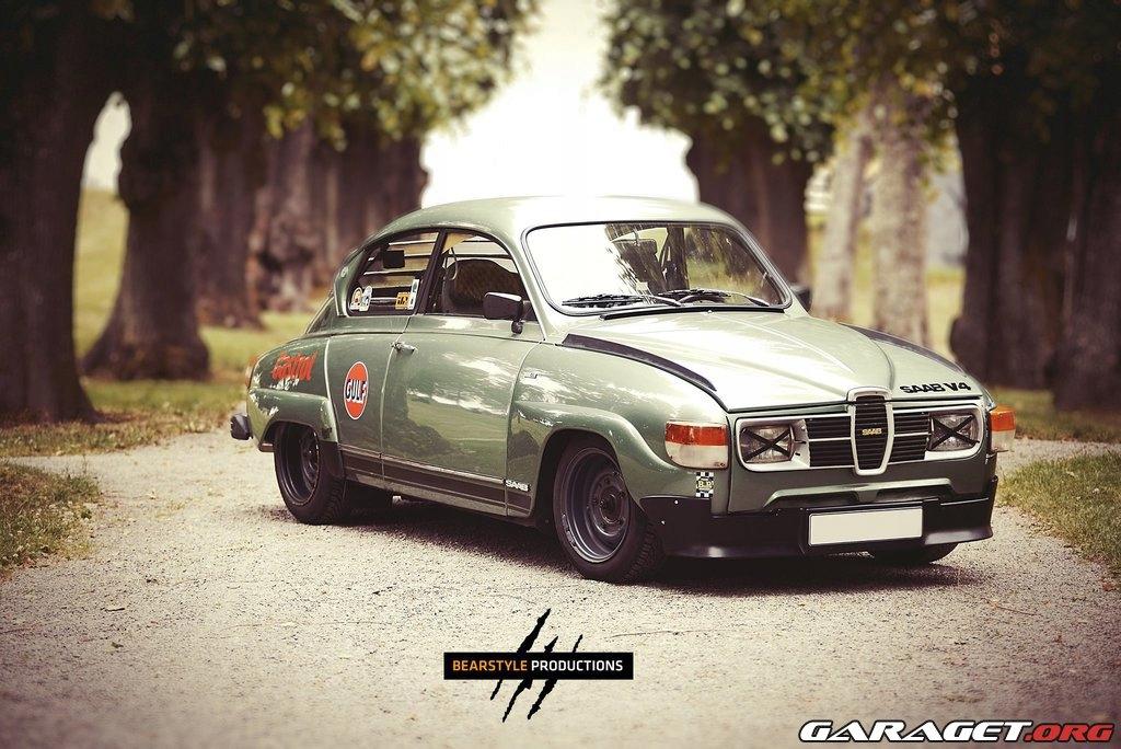 Saab 96 v4 1972rok.