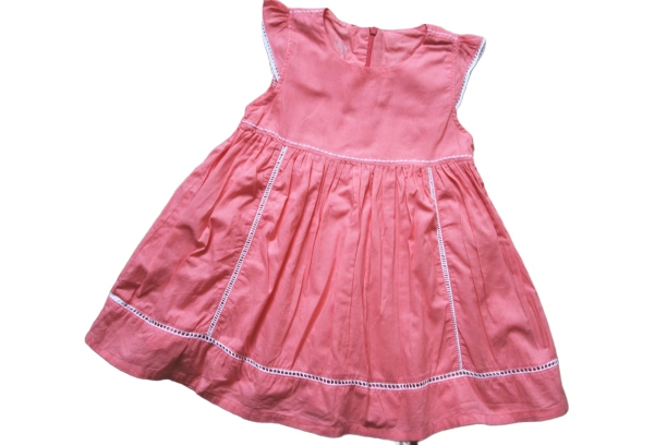 Name It 2-3lata sliczna koralowa sukienka 98