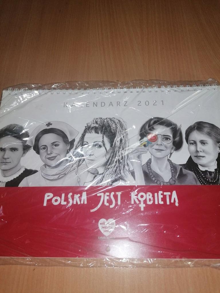 Kalendarz 2021, Polska jest kobietą WOŚP