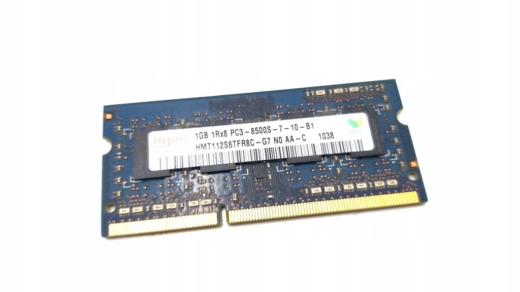 PAMIEĆ RAM DDR3 HYNIX 1GB 1RX8 PC3-8500S-7-10-B1