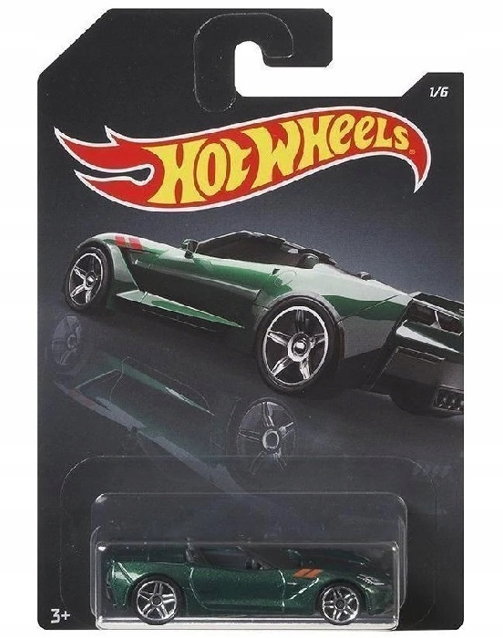 HOT WHEELS '14 CORVETTE STINGRAY GDG44 GBB74