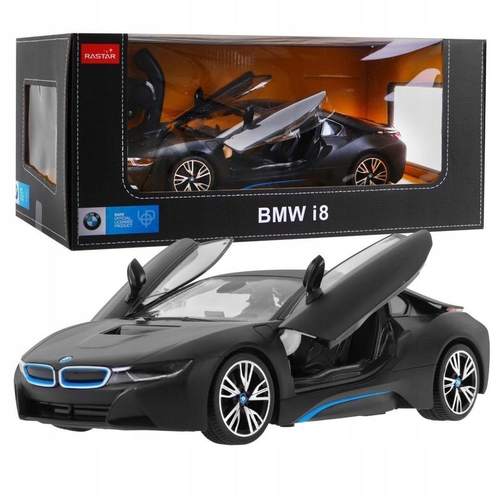 Auto Zdalnie Sterowane Bmw I8 Czarny 1 14 Rastar 8698971728 Oficjalne Archiwum Allegro