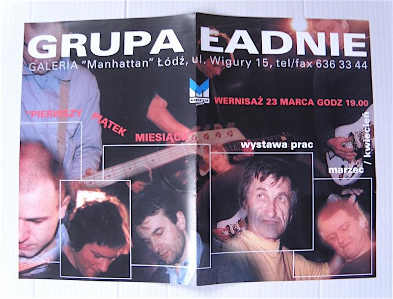 GRUPA ŁADNIE - PROSPEKT Z WYSTAWY ŁÓDŹ 2001