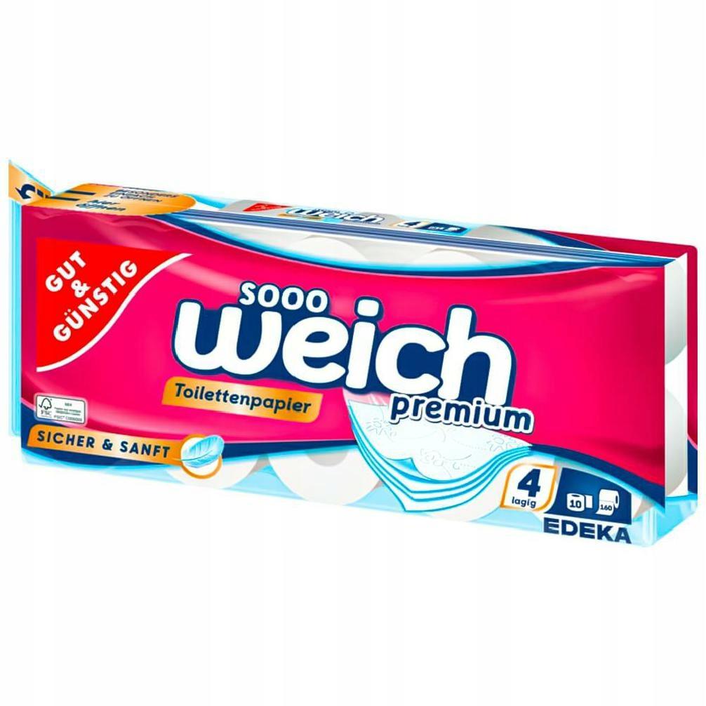 G&G Papier toaletowy 10 rolek Sooo Weich (9)