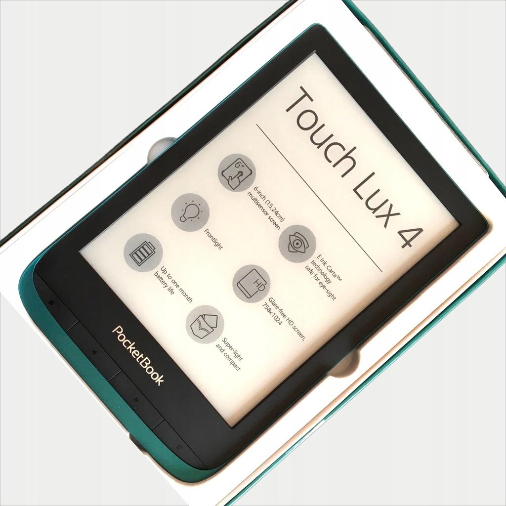 Czytnik Pocketbook Touch Lux 4 z Legimi na 30 dni