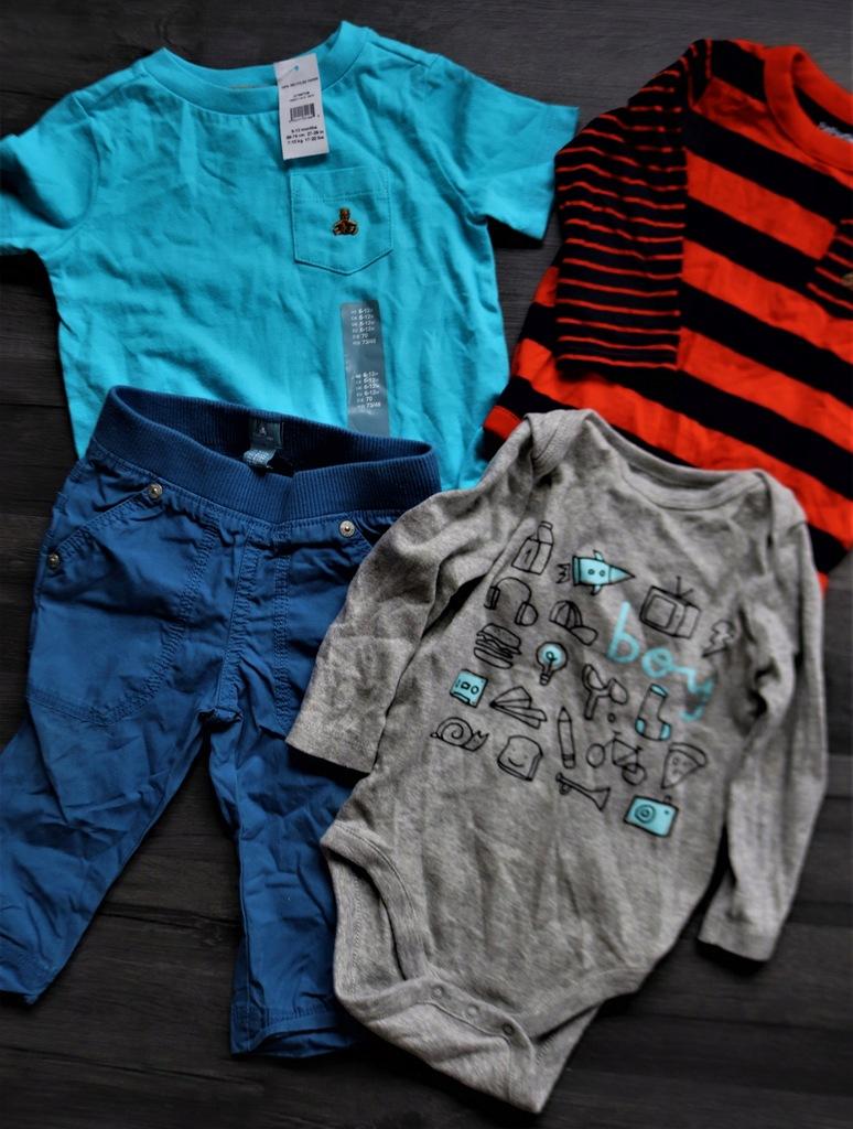 Zestaw ubrań chłopięcy 6-12miesięcy GAP