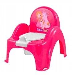nocnik krzesełko Księżniczka różowy