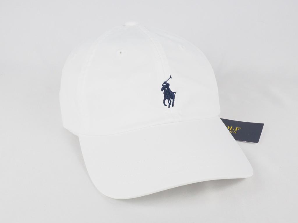 WBA52 Ralph Lauren - czapka z daszkiem - Biała