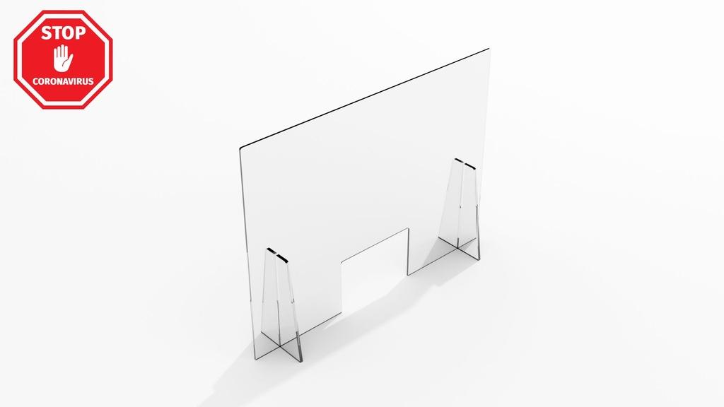 Zabudowa z plexi bezbarwnej 4MM [120x80 cm]