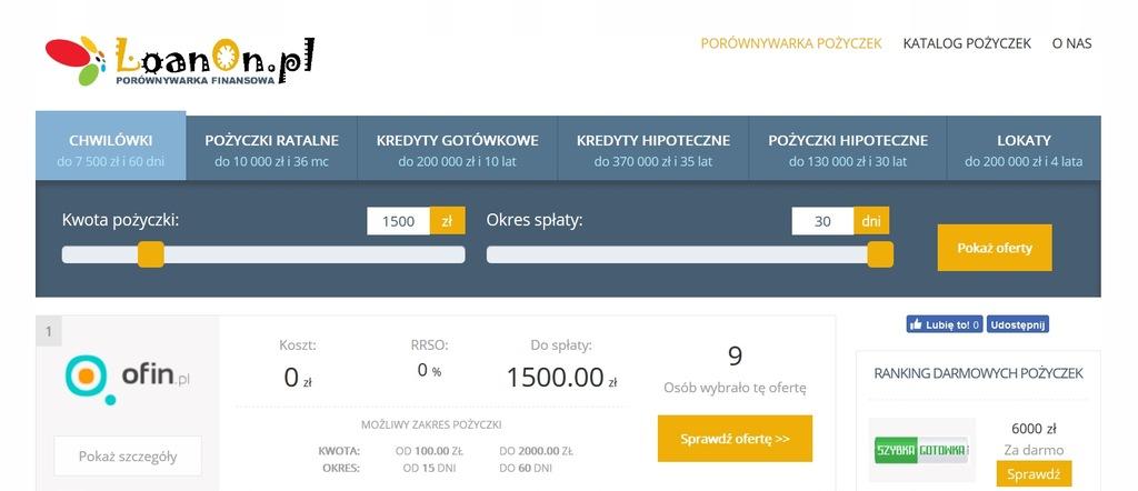 GOTOWY BIZNES porównywarka finansowa - LoanOn.pl