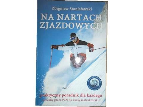 Na nartach zjazdowych - Zbigniew Stanisławski