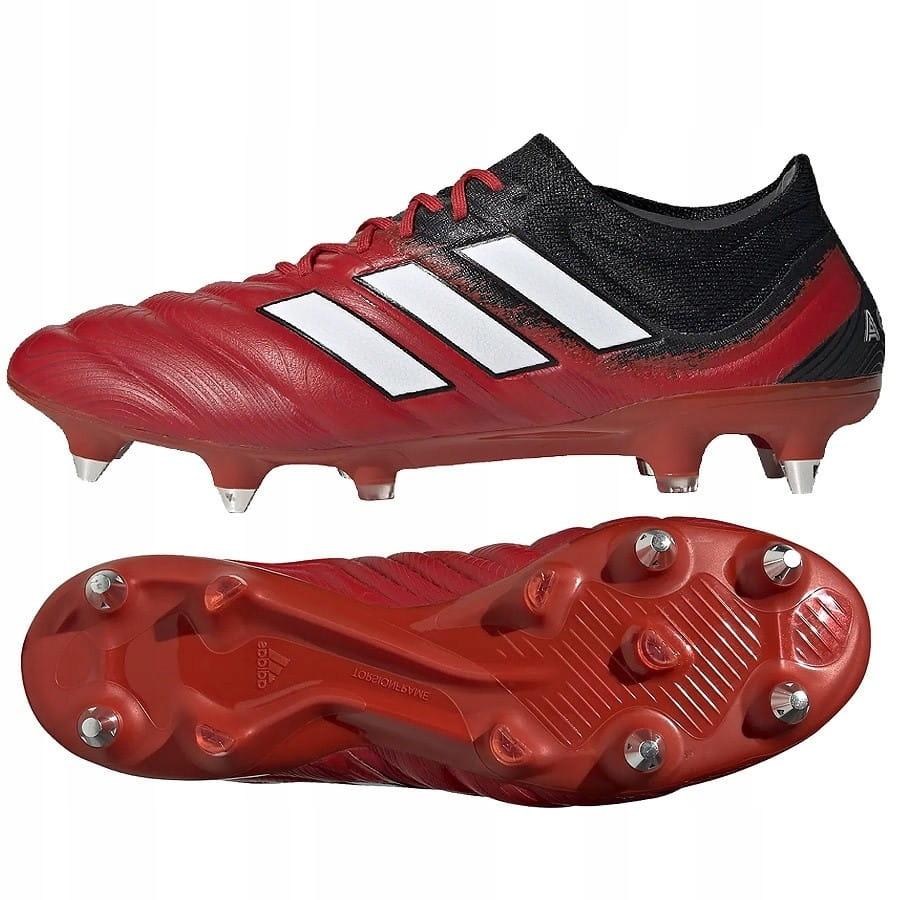 Buty adidas Copa 20.1 SG G28642 - CZERWONY; 48 2/3