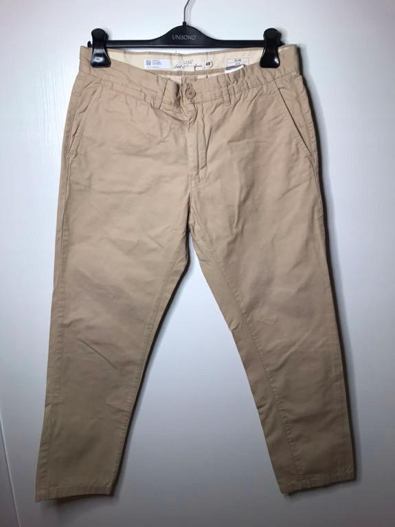 Spodnie H&M chinosy