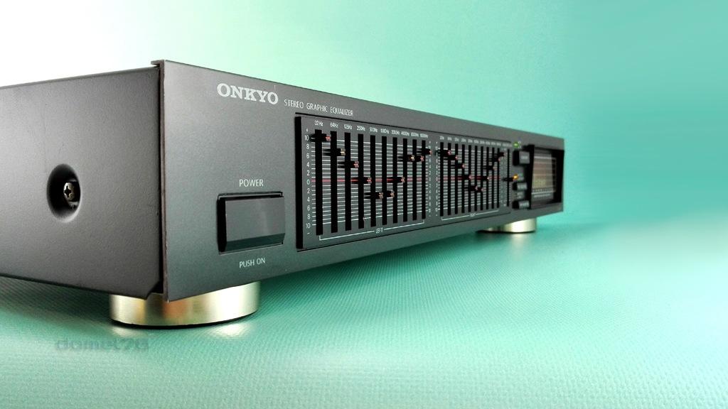 Japoński Onkyo EQ-25 - Dla wymagających - od 32Hz!