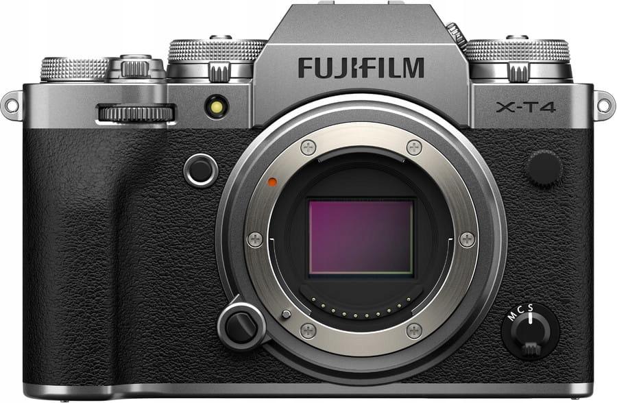 Aparat Fujifilm X-T4 (body) srebrny - Wrocław