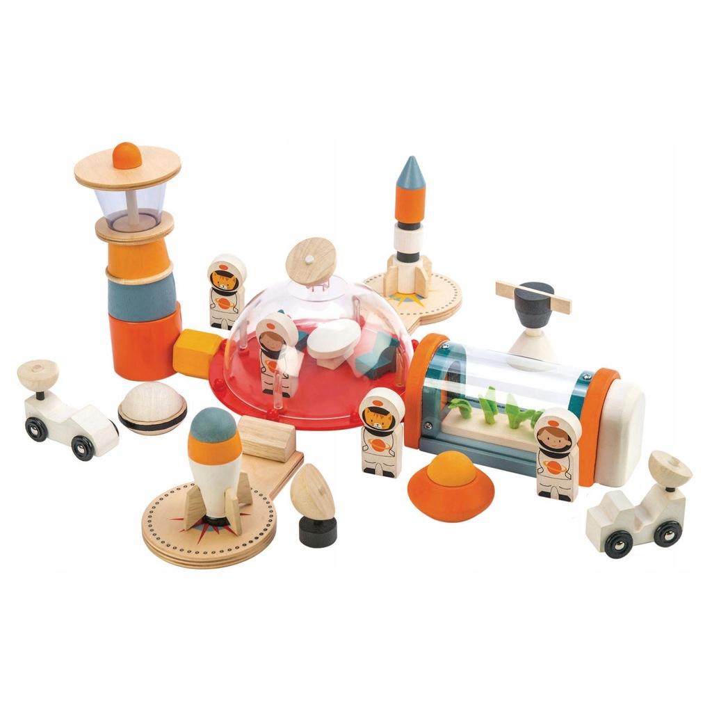 Drewniana stacja kosmiczna Tender Leaf Toys