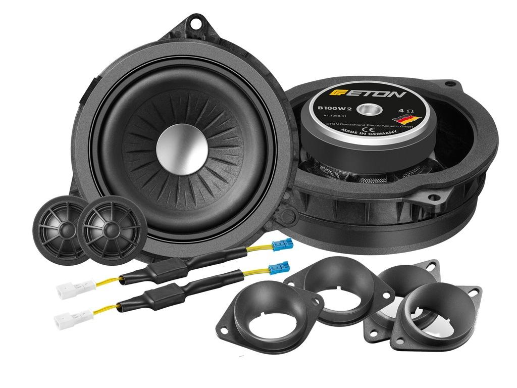 ETON B100W2 - głośniki do BMW X6 F16, X5 F86