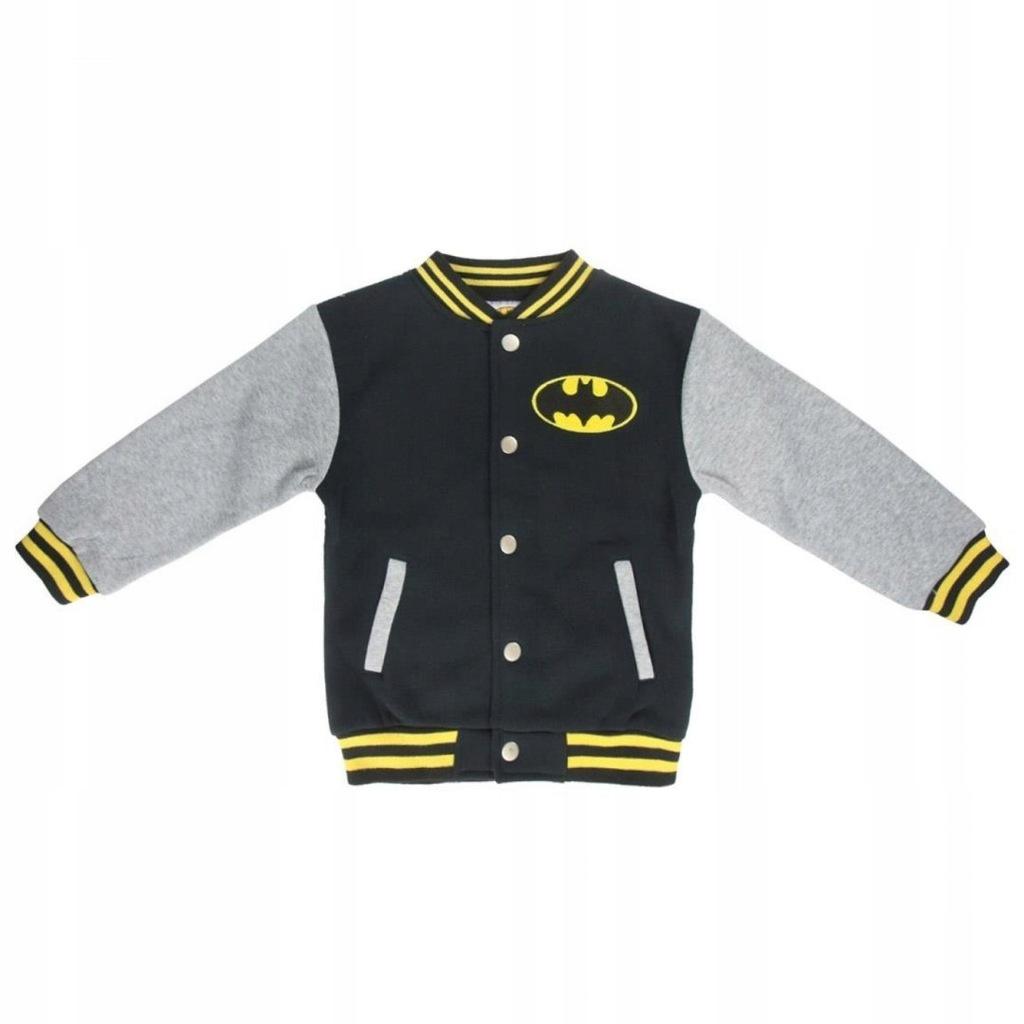 Bluza bejsbolówka Batman : Rozmiar: - 134