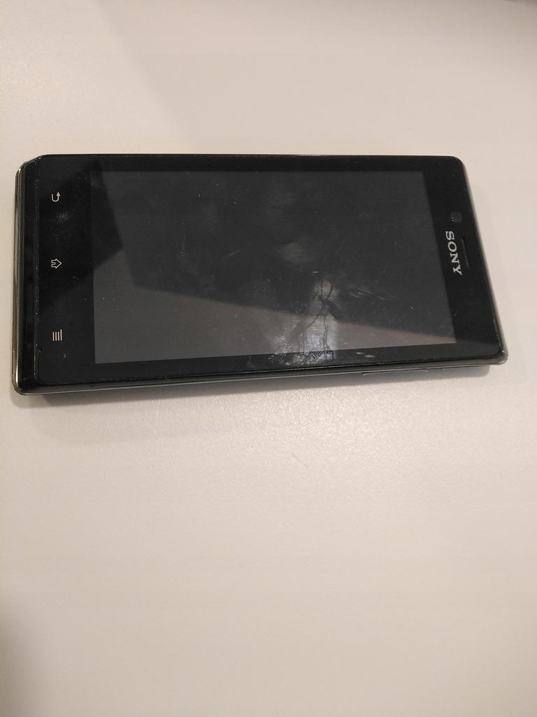 Smartfon Sony Xperia J 0,5/4 GB USZKODZONY !!!