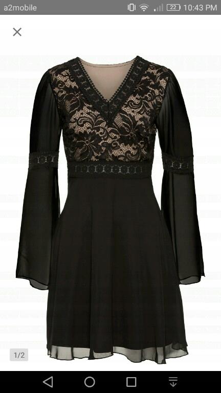 Elegancka, zmysłowa, koronkowa sukienka 44 nowa