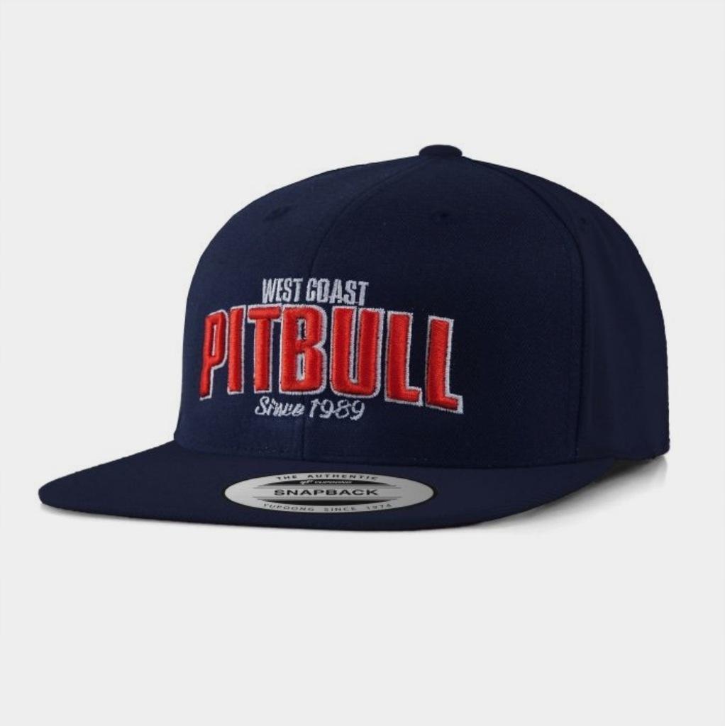 Czapka Pitbull Snapback Flat Since 1989 granatowa
