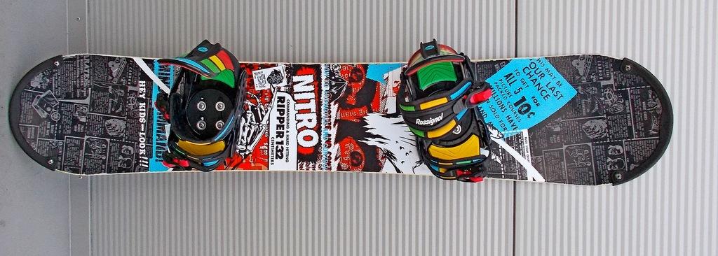 Deska snowboardowa NITRO RIPPER (132cm)