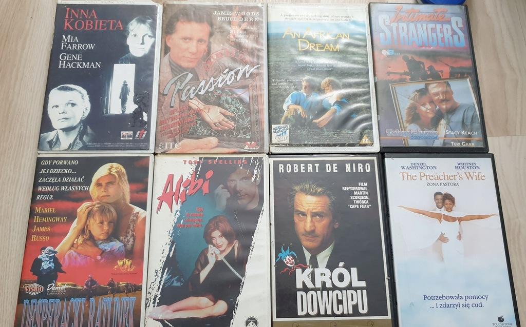 VHS RÓŻNE 1