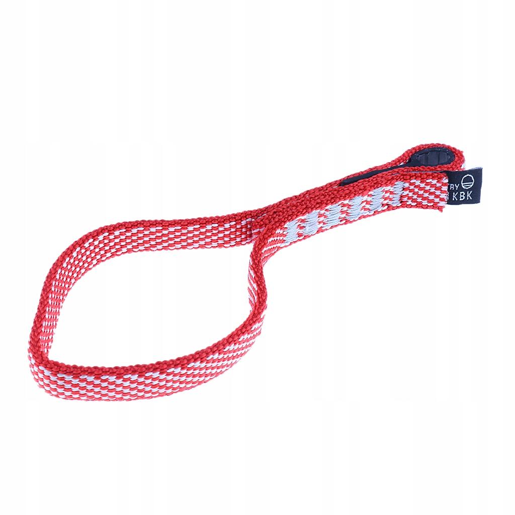 Wspinaczka Quickdraw Sling - Czerwony - 20 cm