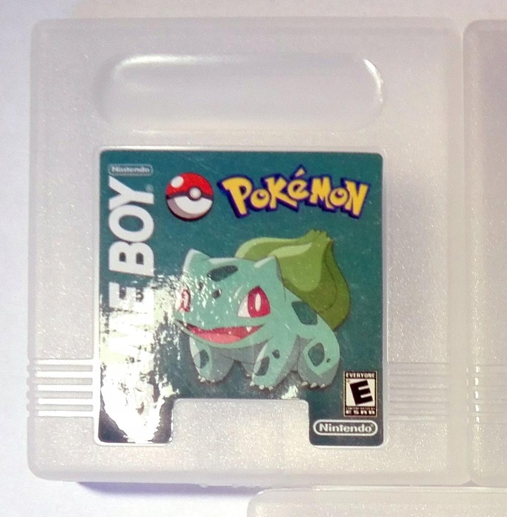 Pudełko GAMEBOY Color Game Boy Pokemon - zielony