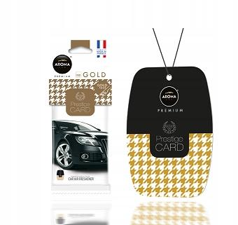 Zapach samochodowy - PRESTIGE CARD Gold