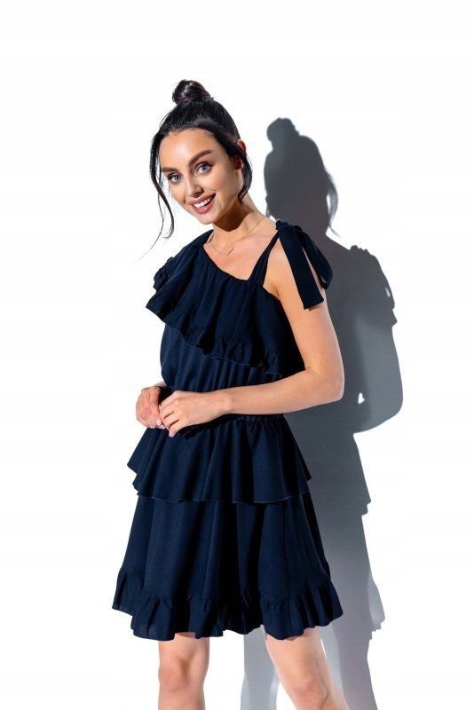 Sukienka L336 granatowy - Lemoniade