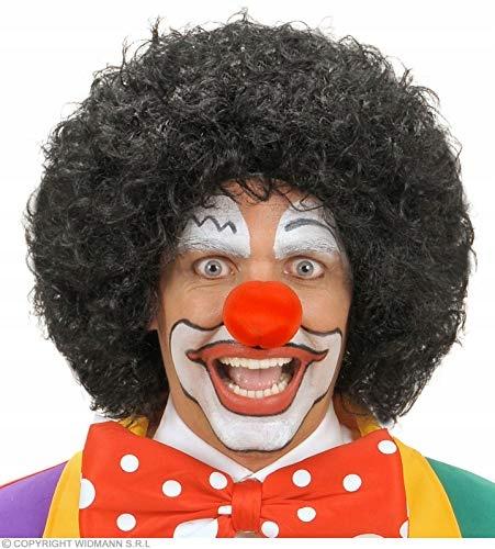 Clown Black Wig for Hair Accessory Fancy Dress