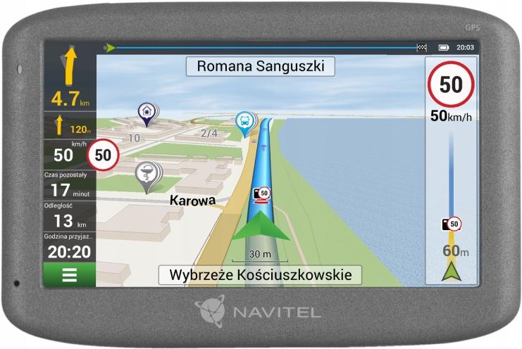 Nawigacja Samochodowa E500 NAVITEL ZESTAW