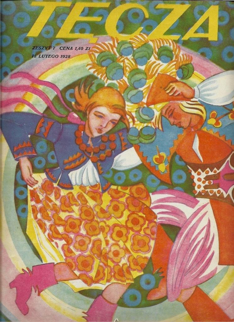 TĘCZA 1928 Grafika Małachowska Bodzentyn Skoczylas