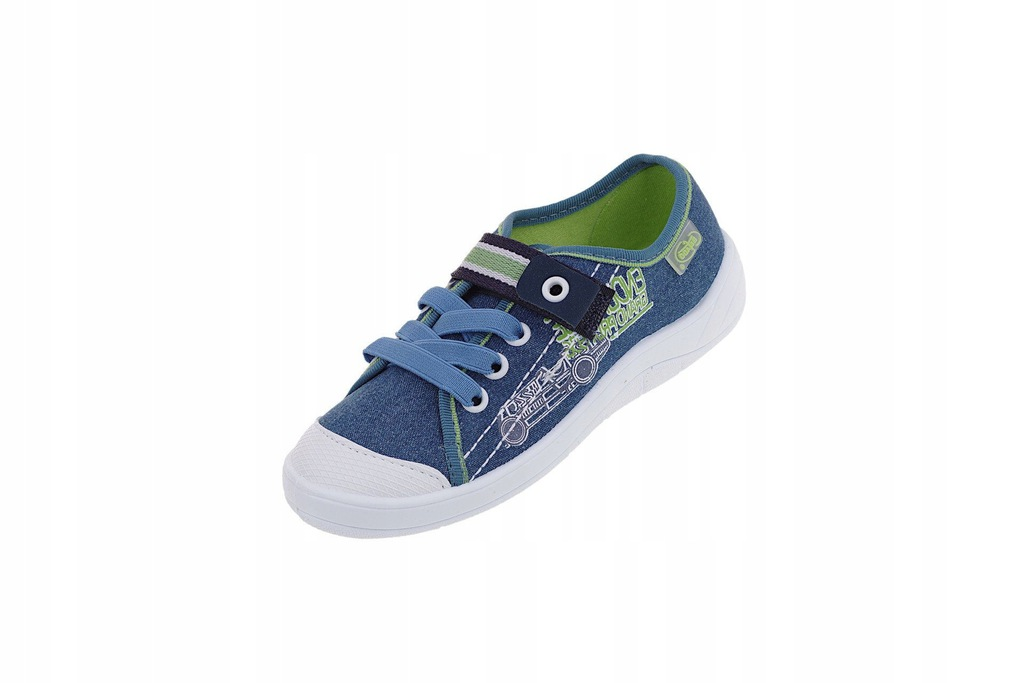 Trampki Befado 251X093 pantofle chłopięce rzepy 25