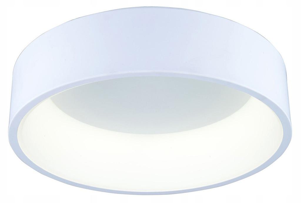 LAMPA SUFITOWA PLAFON BIAŁY LED 37W OKRAGŁY 60CM