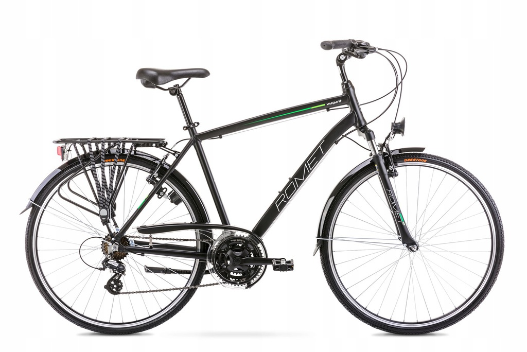 2028315 - 21 L Rower ROMET WAGANT czarno-zielony
