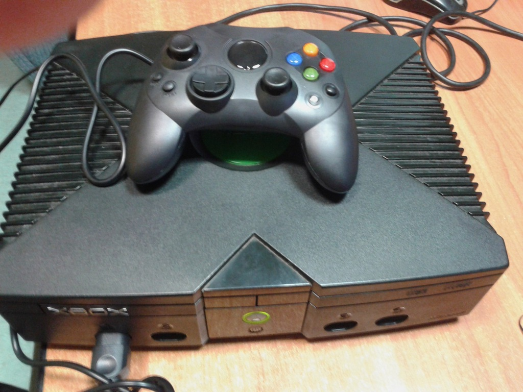Xbox Classic HDD 80 gb gry stan BDB