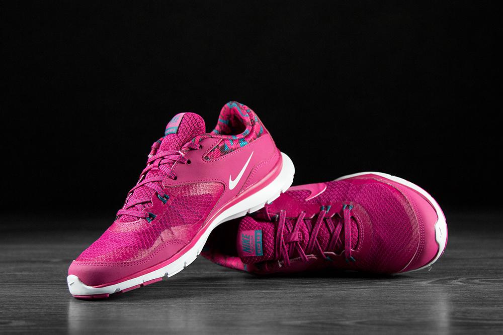 Nike Buty Flex Trainer 5 Print 749184 602 damskie rozm.39 różowe