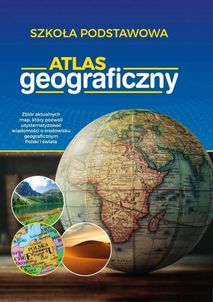 Atlas geograficzny 4-8 szkoła podstawowa SBM 2019