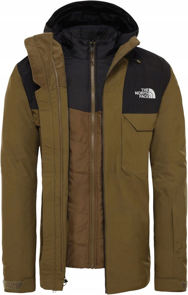 THE NORTH FACE Fourbarrell Kurtka Narciarska XL