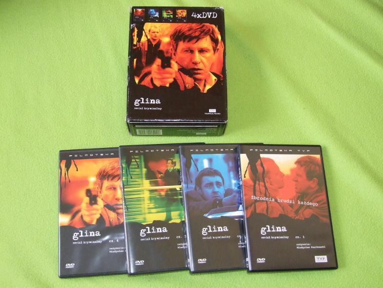 Glina-orginalne DVD odcinki 1-12