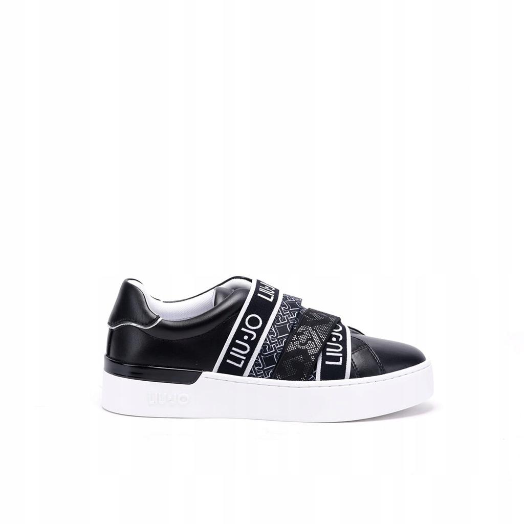 Damskie sneakersy czarne LIU JO HH2L3031 - 37